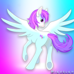 Request Roulette Six: Shaded Full-Body by hikaruko
