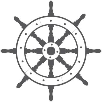 Ship Wheel - Vector by metaldan
