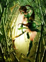 League of Legends Fan Art - Akali by WaterRing