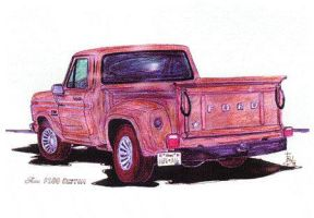 Ford F-100 PU by zekesgraphics
