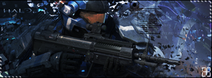 Halo Reach by Gekko3309