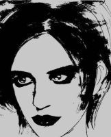Brian Molko by placebodrawings