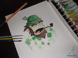 Willie Leprechaun by AmandaCCardoso