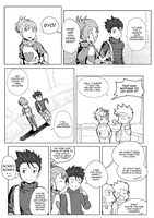 Ryo and Ruki CD Drama Comics Version 2/4 by saurers123
