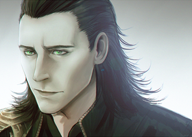 Loki| The Avengers by DivineImmortality