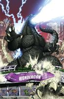 Godzilla Wondercon Exclusive by KaijuSamurai