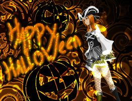 Happy Halloween, Orihime by xHyouga