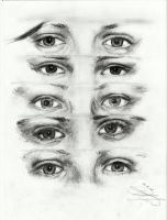 1D eyes by iMeshQa