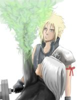 Cloud AC and Kadaj Colored by Angy89