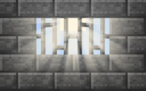 Minecraft Jail Wallpaper by LynchMob10-09
