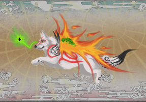 Ammy and Issun~ by Saixpuppy222