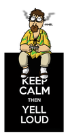 Joueur du grenier - Keep Calm by Mousqueton-le-Mage