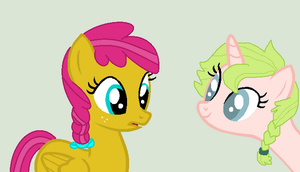 Gift Collab: Meeting Anthea by mrscookie11