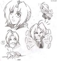 FMA sketch- Ed by K-Shinju88