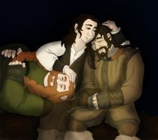 Hobbit OC : Campfire Lullaby by TheLastUnicorn1985