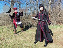 Lavi and Kanda 01 by BluRockAngelCostumes