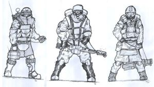 Helghast Classes by Greenstuff-Alex