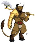 The Minotaur by WereOrc