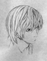 Light Yagami of Death Note by DamnedCat51