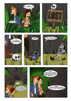 Futurama - Tales of Meatbag Island - PAGE 26 by Spider-Matt