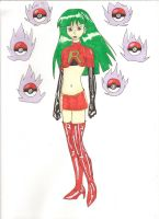 Team Rocket Sabrina colored by Panthers07