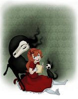 Millie and Her Ghost Pets by Jay-bo