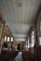 Inside cathedral St Louis to Fort De France by A1Z2E3R
