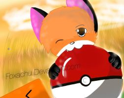 Foxachu colored by Foxachu