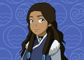 Katara Close-Up by invisiblejohnny