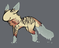 Sunset Tiger by TheseWeirdFishes