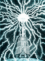Tesla's Coil by BenjaminForsell