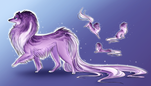 Sparkle Dog Contest by soulwithin465