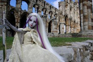 Drisimi at Whitby Abby by Karla-Chan