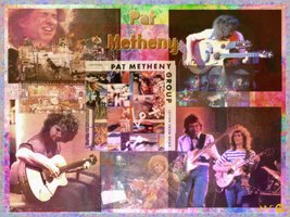 Pat Metheny by reddartfrog