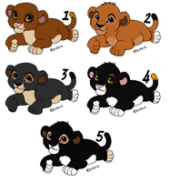 Cubs from Tenebris and E - CLOSED - by Soufroma