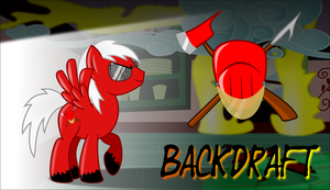 BackDraft MLP-FIM by BlackGryph0n
