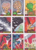 MARS ATTACKS CARDS by phymns