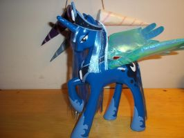 New custom Princess Luna by GoEatCheesecake