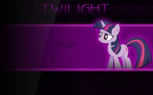 Twilight Sparkle Wallpaper #1 by snizzl
