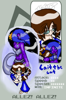 Pixel Fighting ID: Cait Style by CaittheCat