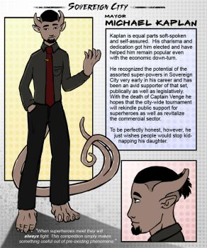 Sovereign City NPC Kaplan by sincerely