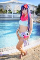 PSG: Near the pool by AmaneMiss