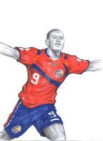 Joel Campbell by TicoDrawing