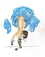 Impossible Pose 2: Blue Roses by bnybriek