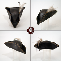 Bloodborne Lady Maria leather mini hat (replica) by Svetliy-Sudar