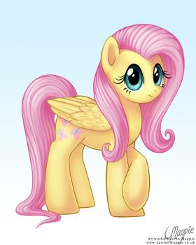 Fluttershy by LaurenMagpie