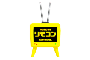 Lookie what I made! :D (Remote Control TV) by Rayne-Ray