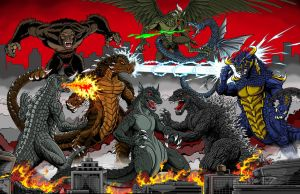 Global Kaiju Battle by kaijuverse