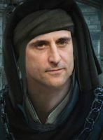 Mark Strong as Vernon Roche (Witcher 2) by Lucius007