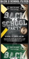 Back to School Flyer Template 2 by Hotpindesigns
